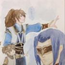 【原创手绘】水彩-古剑奇谭二-乐、夏、谢